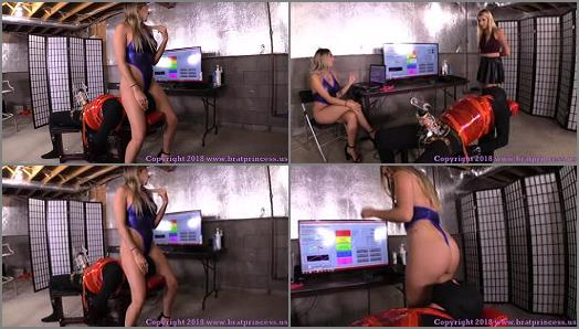 Brat Princess 2  BP  Teasers Try Out New Software at the Edging Salon Complete Part 4  preview