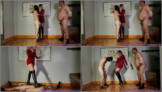 Brat Princess 2  Nikki Brooks  Christmas is for Brats 2 Ballbusting slaves for Princess  preview