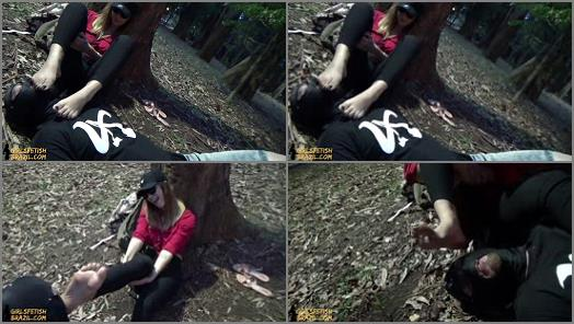 Mud - GIRLS FETISH BRAZIL – Dirty Feet in the Park and Humiliation in Public by Princess Shirley # FULL VERSION