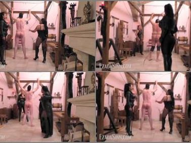 Whipped - Mistress Ezada Sinn – Cruel double whipping at the OWK -  Mistress Saint Lawrence