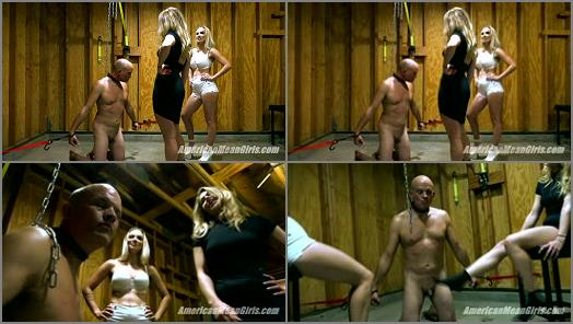 THE MEAN GIRLS  Slap and Kick The Loser   Goddess Platinum and Princess Amber  preview