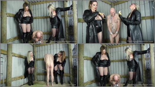 The English Mansion  Owned Cunt  Part 13   Mistress Evilyne and Mistress Sidonia  preview
