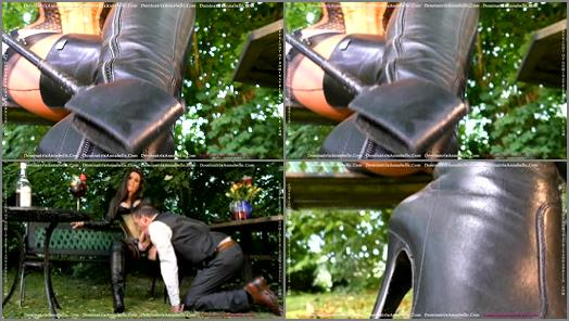 Dominatrix Annabelle  Garden Debauchery  preview