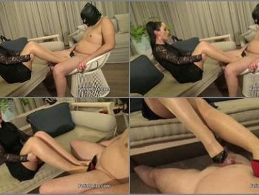 K2s.cc -  Fetish Liza – So Kate heel slave shoejob part 2