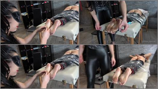 MISTRESS GAIA  TICKLE TABLE OF TORTURE  preview