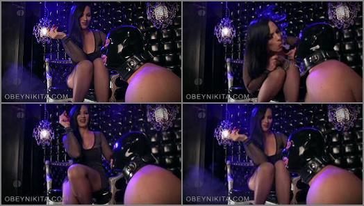 Mistress Nikita FemDom Videos  Obey Nikita  Suck My Secondhand Smoke  preview