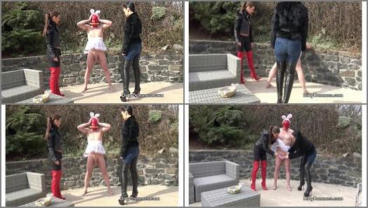 Dirty Dommes  Bad easter bunny part 1   Tina Kay and Fetish Liza  preview