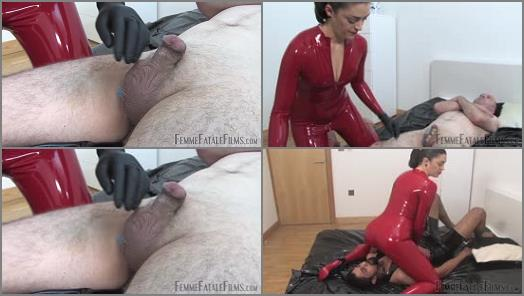 Femme Fatale Films  Latex Smother  CBT Surprise  Complete Film   The Hunteress  preview