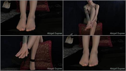 Abigail Dupree  foot worship pt 1 preview