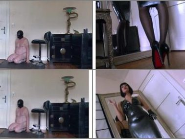 Smoking -  Absolute Femdom – Latex Cuckoldress Make You Pay