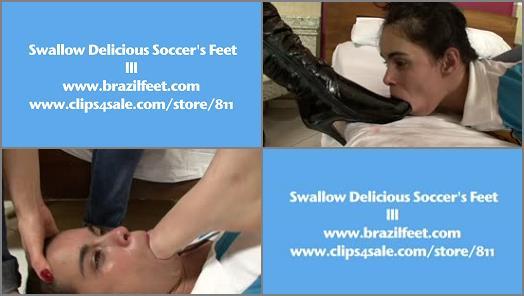 BRAZIL FEET  Swallow Delicious Soccer Feet preview