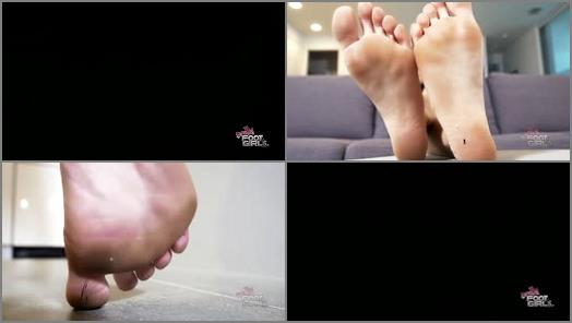GIANTESS SPECIAL EFFECTS – Bratty Foot Girls – Naomi Swann – Naomi's Unaware Bug Problem SFX