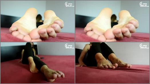 Czech Soles  Daniela  Long Toes And Bare Feet POV preview
