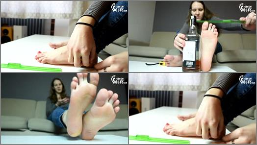 Czech Soles  Foot Measuring With Czech Footgirl Ivet preview