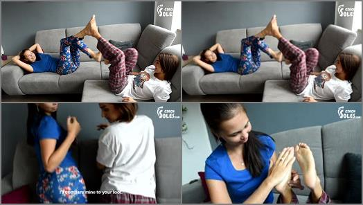 Czech Soles  Huge And Tiny Feet Comparesment Show preview