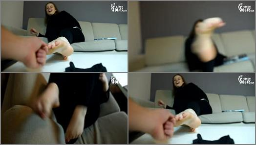 Soles fetish – Czech Soles – POV Foot Play Tickling And Foot Worship