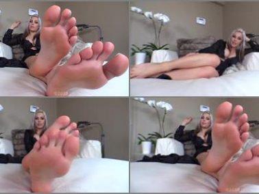 Foot Worship -  Divine Goddess Jessica – Stupefied By Feet