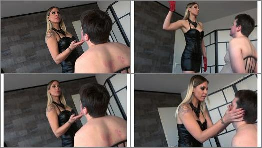 FEMDOMPOVCLIPS  A Good Dose Of Faceslapping   Lady Mystique  preview