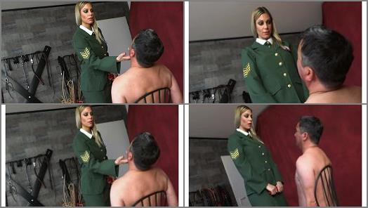 FEMDOMPOVCLIPS  Recruit Slapped   Lady Mystique  preview