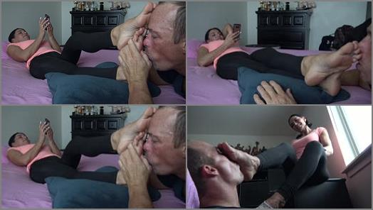 Goddess Zephy  LICK My sweaty dirty socks   foot massage  preview