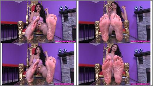 Jasmine Mendez  quick memo for a foot freak preview
