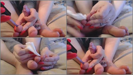Pedicures – Kelly Belle – foot fetish toe nail painting