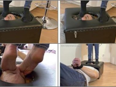 Foot smelling - Madame Marissa - Trapped In The Smotherbox And Smothered Under Feet