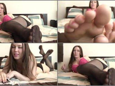 Toes fetish - Megan Loxx - Megan's Edging Games