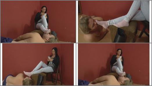 Mistress Jenna Sadurnus  I take off my boot preview