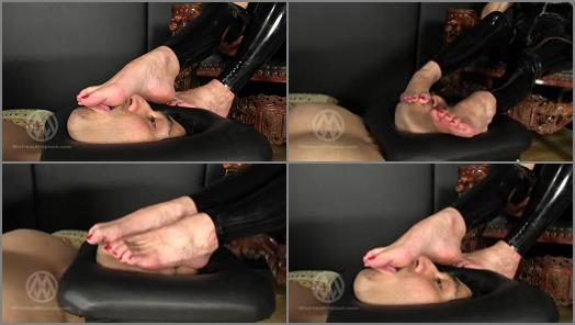 Mistress Nikki Whiplash  Trapped Foot Slave preview