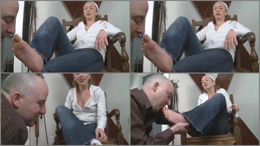 Mistress T  Fetish Fuckery  Sweaty Feet Tongue Bath preview