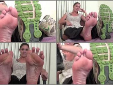 Soles - Planet of the Arches - Dixie's Reeking Sneakers One Shoe