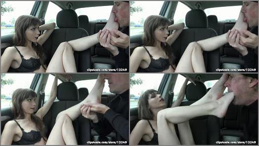 Rootdawg25  Ava Thoreau  Front Seat Footworship preview