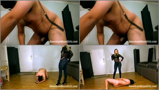 The Mean Girls  Testing A New Ballbusting Slave Out   Princess Amber  preview