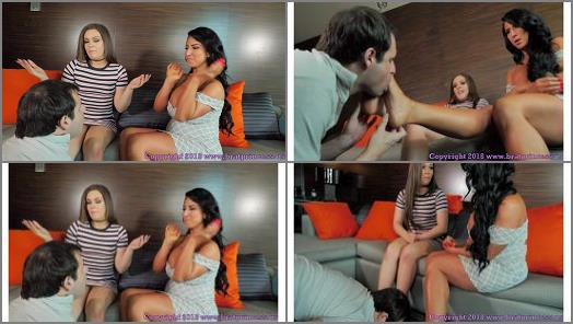 Brat Princess 2  Kimber Woods Raven Hart  Mom and Daughter Financially Dominate a Loser 4K preview