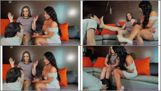 Brat Princess 2  Kimber and Raven  Mom and Daughter Financially Dominate A Loser preview