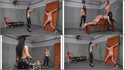 CRUEL PUNISHMENTS  SEVERE FEMDOM  Crazy brutal punishments Full Version   Mistress Kittina and Mistress Anette  preview