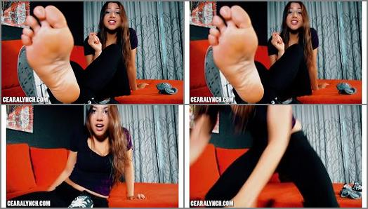 Feet - Ceara Lynch – Hot and Sweaty Girl