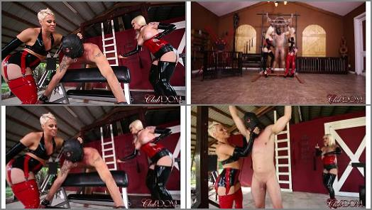 ClubDom  Slave 032s Day In The Dungeon Full Movie   Dahlia Rain Domina Helena  preview