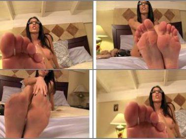 Feet - Dava Foxx - Jerk Off Session