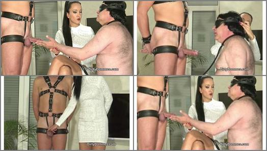 Dirty Dommes  Tricked to suck cock part 1   Fetish Liza  preview