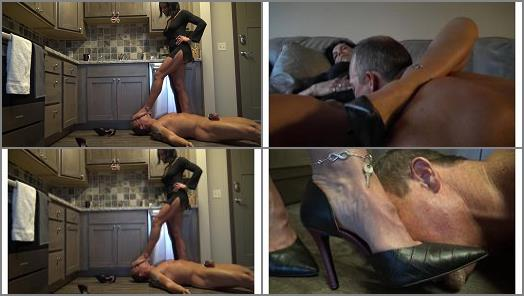 Goddess Zephy  Abuse of Power locked in chastity  preview