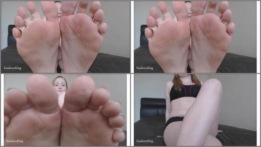 Kaidence King  Sweaty Feet Licking Instructions preview