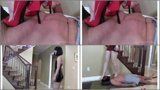 Bare foot trampling – Princess Lily – He'll Enjoy These Heels Even More Than I Will