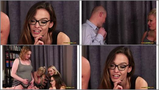 Sperm – Pure CFNM – Panty Humping –  Amber Jayne, Amber West, Kylie Nymphette and Michelle Thorne