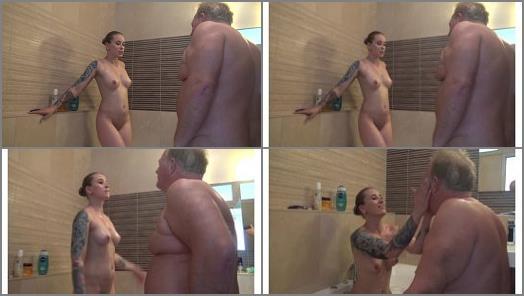 Under my princess  Princess Mini Bathroom Domination Cam 1 Part 1  preview