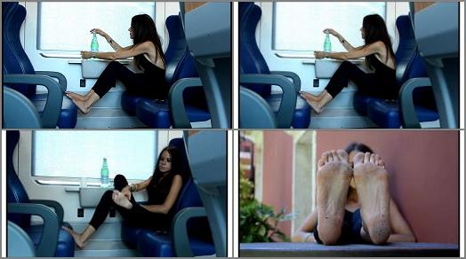 Barefoot Urban Girls  SWAINS soles show and train ride preview