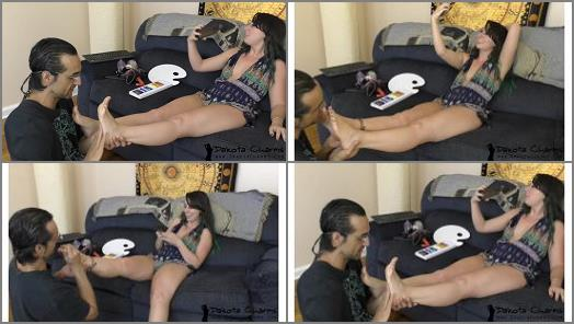 Dakota Charmsxxx  Commanding Him To Lick Dirty Feet preview