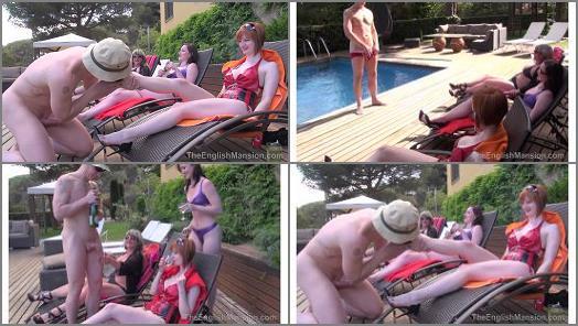 Exhibitionism – The English Mansion – Girls in Heat – Complete Film –  Lady Nina Birch, Miss Vivienne lAmour & Miss Zara