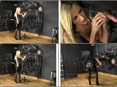 Ball Abuse -  Ballbusting World PPV – Sadistic Suspended Ballbusting BB1390 -  Nikki Whiplash